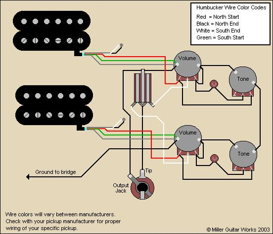Wiring Diagram For Les Paul : Les paul hum hands off strings grounding the gear page